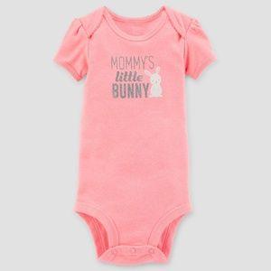CARTER'S MOMMY'S LITTLE BUNNY BODYSUIT - 6 MONTH